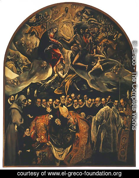 El Greco - Burial of Count Orgaz